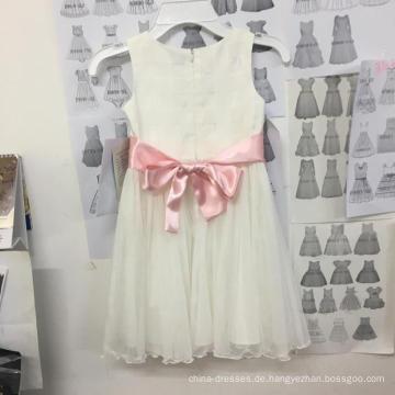 Blumenmädchen / Prinzessin Mädchen / weißes Kleid / Kind Hochzeitskleid