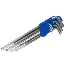 Long Arm Ball End Hex Key Wrench Set