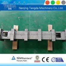 Barril de tornillo de extrusora de carburo de tungsteno para extrusora de sistema de bloque de construcción