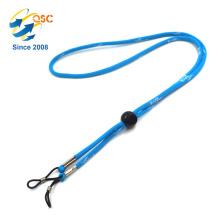 Material de poliéster de titular de distintivo personalizado Material de cordón tubular de moda
