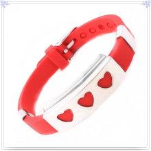 Moda jóias de silicone pulseira para pulseira magnética (lb028)