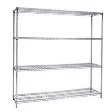 Multi-Level Steel Warehouse Storage Wire Rack Shelf with Adjustable Shelf Height