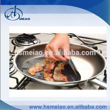 Feuille de cuisson ronde et cuisson au four en PTFE pour poêle à frire