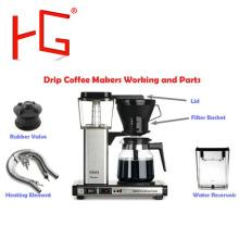 Aluminium-Druckgussteil für Kaffeemaschine
