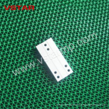 Anodische Teile CNC-Maschinerie für Prüfsystem