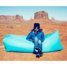 Nylon Fabric and Air Filling 2016 Newest Fast Inflatable Sleeping Bag