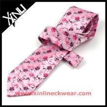 New Fashion Pink Silk Ties