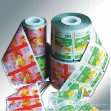Jelly Plastic Film / Custom Printed Jelly Packaging / Food Roll Film