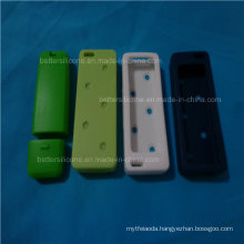 Custom Made Colorful Eco Silicone USB Coil Cable Winder