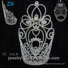 Fashion Grand Beauty Pageant Crowns, Wedding Crown, Princess Crown For Girl