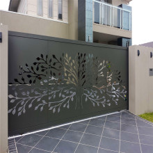 Laser Cut Mild Steel Gate