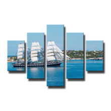 Home Decoration Wall Painting Boat Canvas Prints