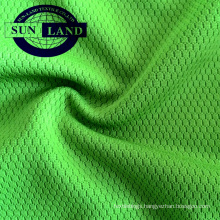 100 polyester moisture wicking honeycomb fabric for sports t shirts