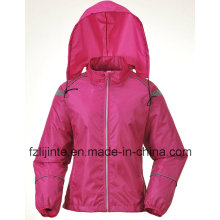 Women′s Outdoor Slim Hoodie Waterproof Windbreaker
