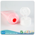 Customized Empty Toothpaste Lotion LDPE Tubes Packaging Flip Top Cap