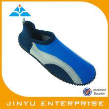 TPR aqua blue shoes