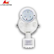 2018 levou a segurança do sensor China manufatura levou a luz de segurança com sensor 1x10w levou luz de inundação de segurança