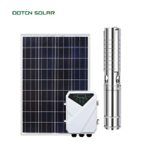 Tauch-Solarpumpe mit Solarwechselrichter MPPT