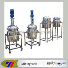 Réacteur chimique à réacteurs en acier inoxydable
