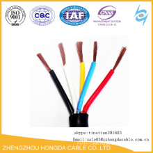 3G 5G PVC Insulated Copper Flexible Cable 4mm