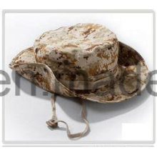 Capuchon / chapeau de godet de baseball en coton camouflé, chapeau souple
