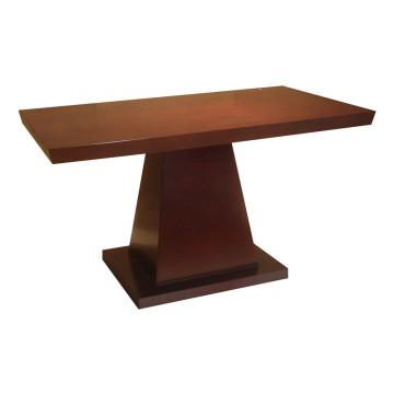 Mesa de comedor Mesa de madera maciza para muebles de hotel