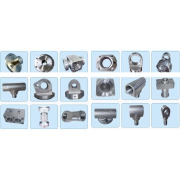 Pièce forgéee de cylindre hydraulique pour des machines de construction