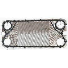 M10B relacionadas con placas de titanio, intercambiador de calor de placas y juntas, junta placa intercambiador de calor