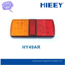 Hot selling led trailer tail lamp truck tail led light with reflectors