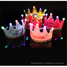 Новый дизайн Led Cap день рождения Кап Кап Светодиодные