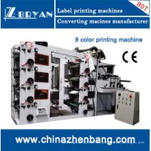 Flexogarphische 8-Farben-Druckmaschine