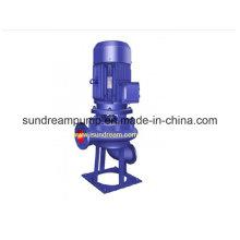 Lw pompe à eau centrifuge verticale ISO approuvée