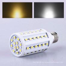 E27 60PCS 5050 15W lámpara de maíz LED 9W de ahorro de energía bulbo de lámpara de luz 110V / 220V