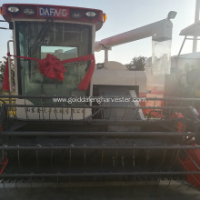 Good performance crawler type single cylinder rice harvester
