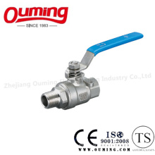 Stainless Steel Ball Valve with Male/Female Thread End