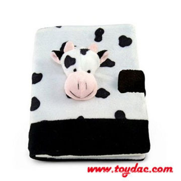 Plush Kids Cow Notebook