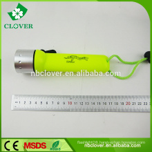 Green handle 180LM 4*AAA battery high power style mini led flashlight