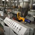 Полностью автоматическая двухшнековая экструзионная линия для производства профилей из ДПК