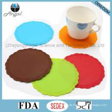 Promotion Geschenk Kleine Silikon Gummi Hot Pad für Cup Sm35