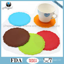 Promotion Gift Small Size Silicone Rubber Hot Pad for Cup Sm35