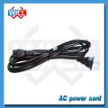 Утверждение CUL 125v 2.5a 10a 2-контактный кабель питания canada переменного тока