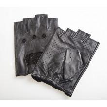 Herrenmode Fingerlose Ziegenleder Fahren Sporthandschuhe (YKY5204-2)