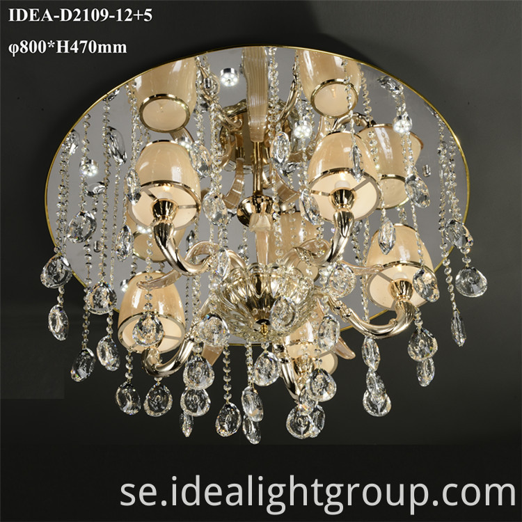 weddings decoration crystal lamp