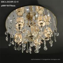 mariage décoration cristal lampe bougie lustres
