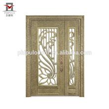 Новый стиль дизайна решетки ворот сварочного железа / дизайн ворот железного двери