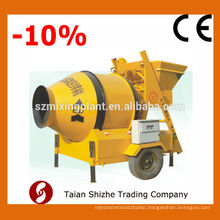 JZC500 mobile concrete mixer, concrete mixer machine for sale