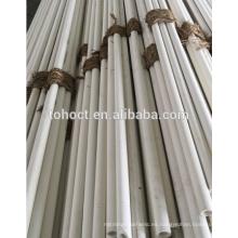 60% Al2O3 alúmina mullita tubo de cerámica tubo varilla de barra pin