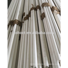 60% Al2O3 alumina mulita tubo de tubo de tubo de vara de rolo de cerâmica