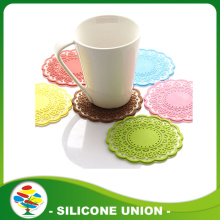 Hollow Lace Silicone Coffee Cup Mat