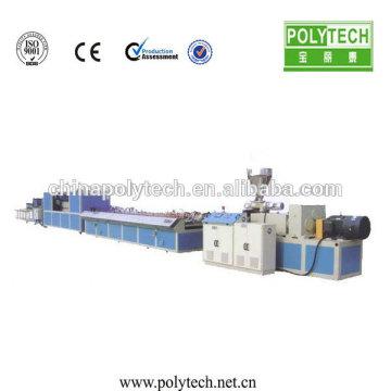 Machine à /Making Machine en plastique ABS de fenêtre et de porte profil personnalisé UPVC WPC